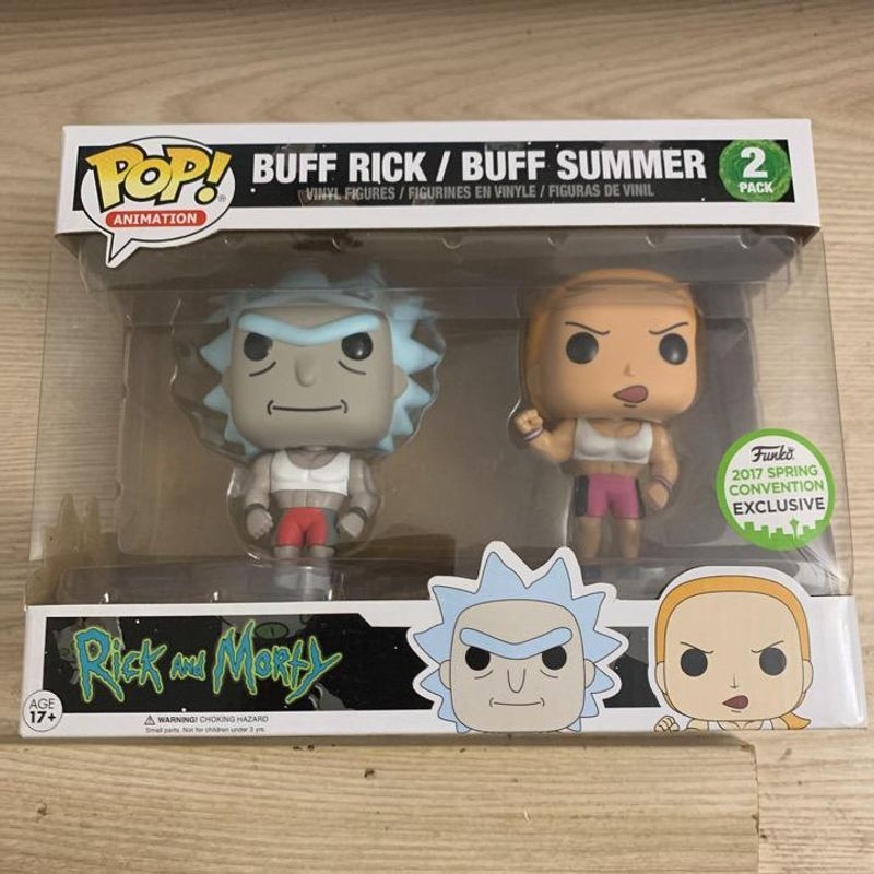 Buff Rick / Buff Summer (2-Pack) [Spring Convention]