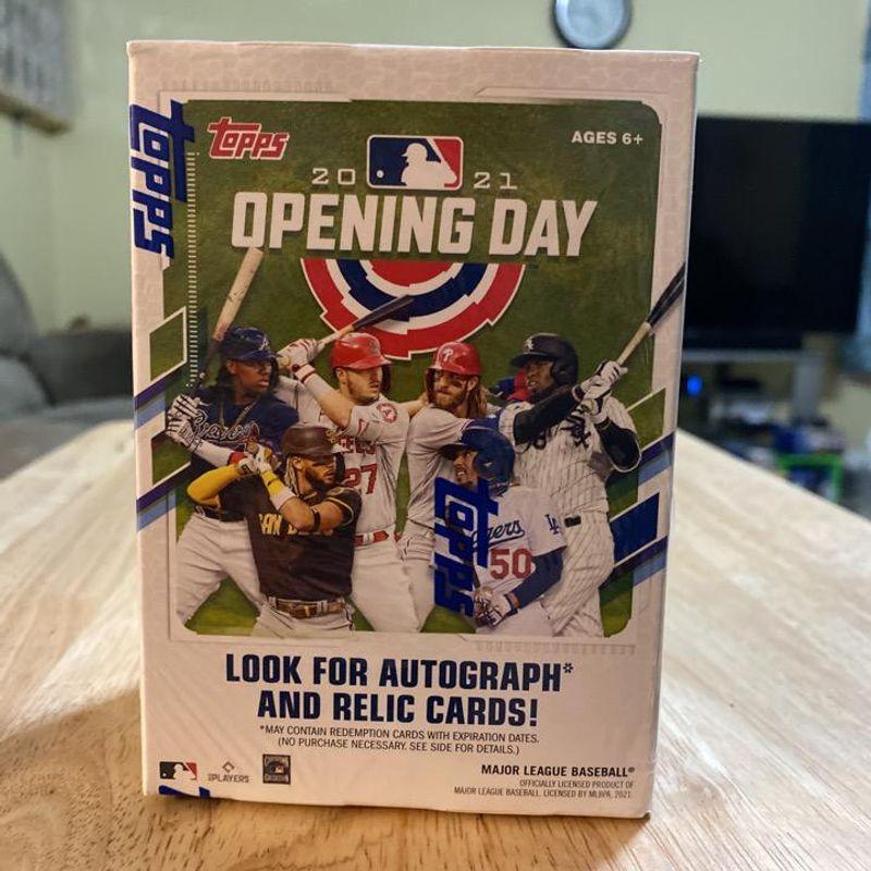 2021 Topps Baseball Opening Day Blaster Box