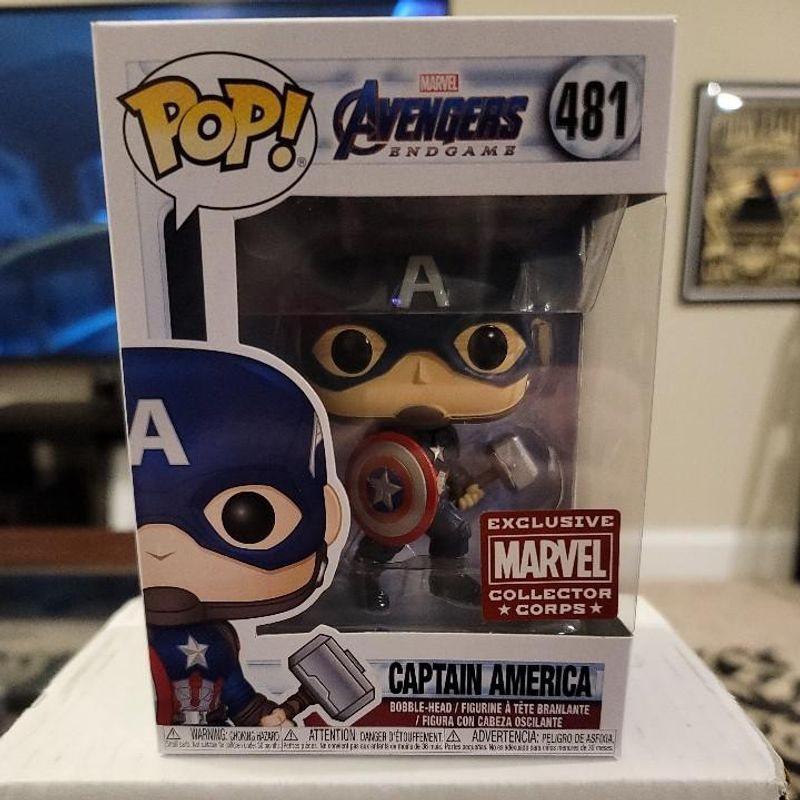 Captain America (with Mjolnir)