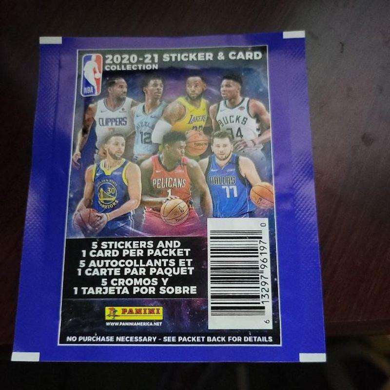 2020-21 Panini Sticker & Card NBA Collection Album