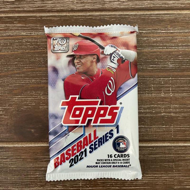 2021 Topps Series 1 Baseball Pack