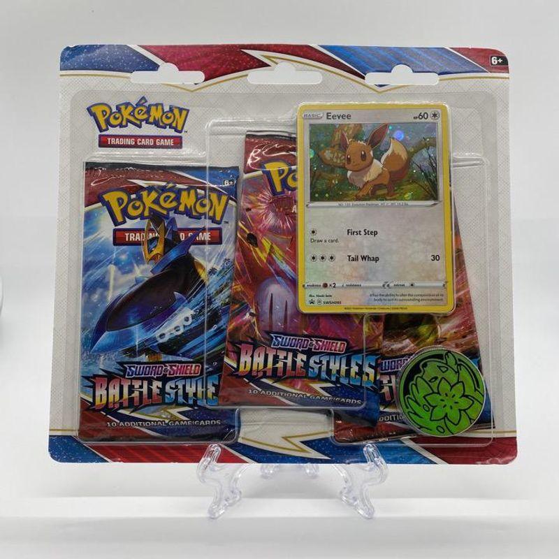 Battle Styles 3 Pack Blister (Eevee)