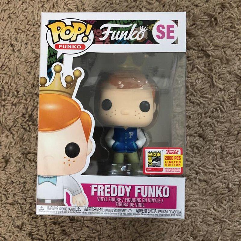 Freddy Funko (Letterman Jacket)