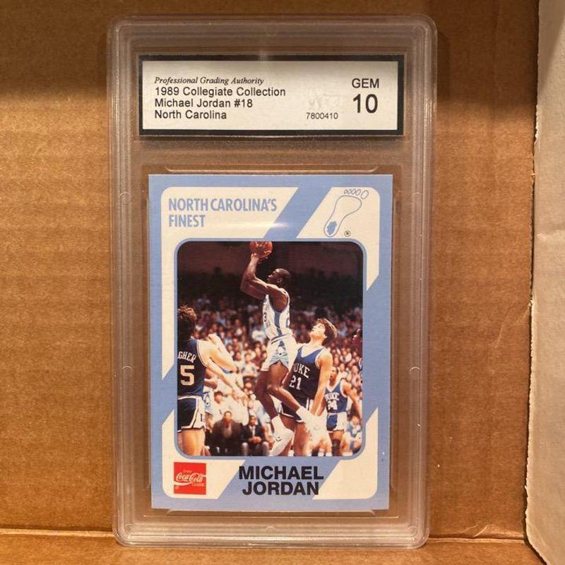 Michael Jordan - 1989 - Collegiate Collection