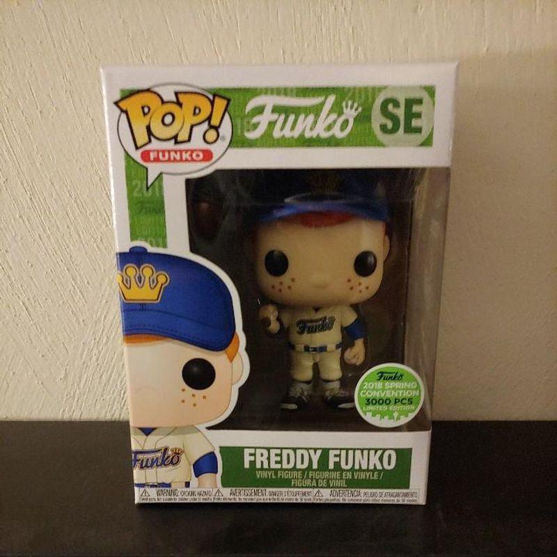 Freddy Funko (Baseball) (Alternate Uniform) [Spring Convention]