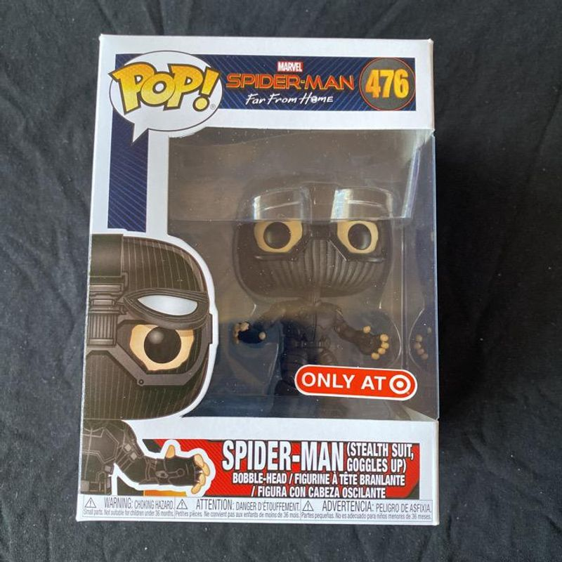 Spider-Man (Stealth Suit, Goggles Up)