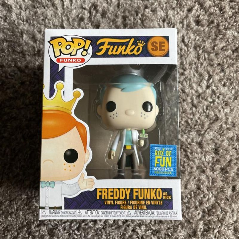 Freddy Funko as Rick
