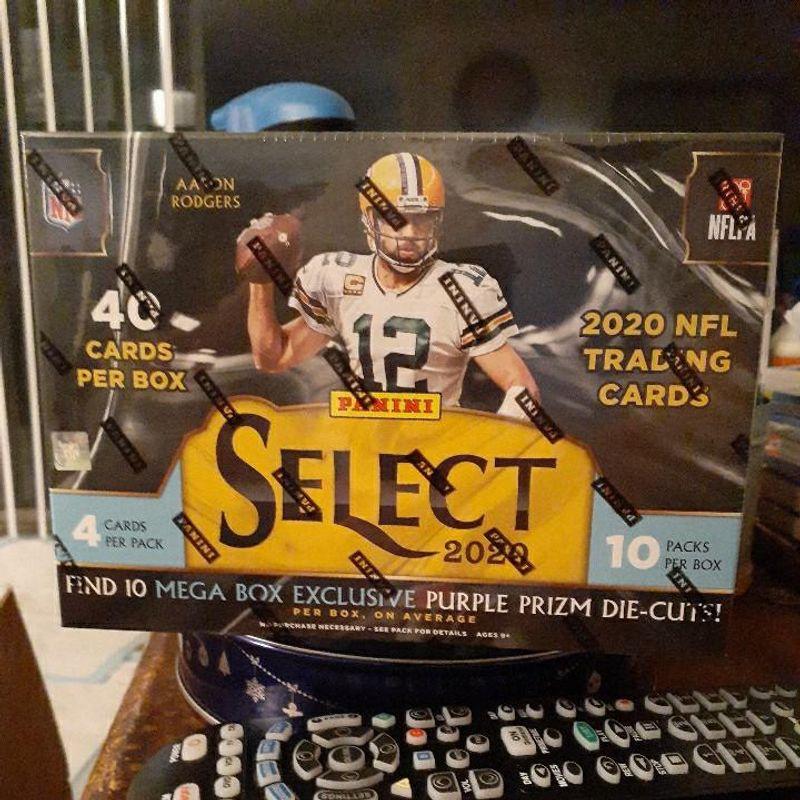 2020 Panini Select Football Mega Box (10 packs)