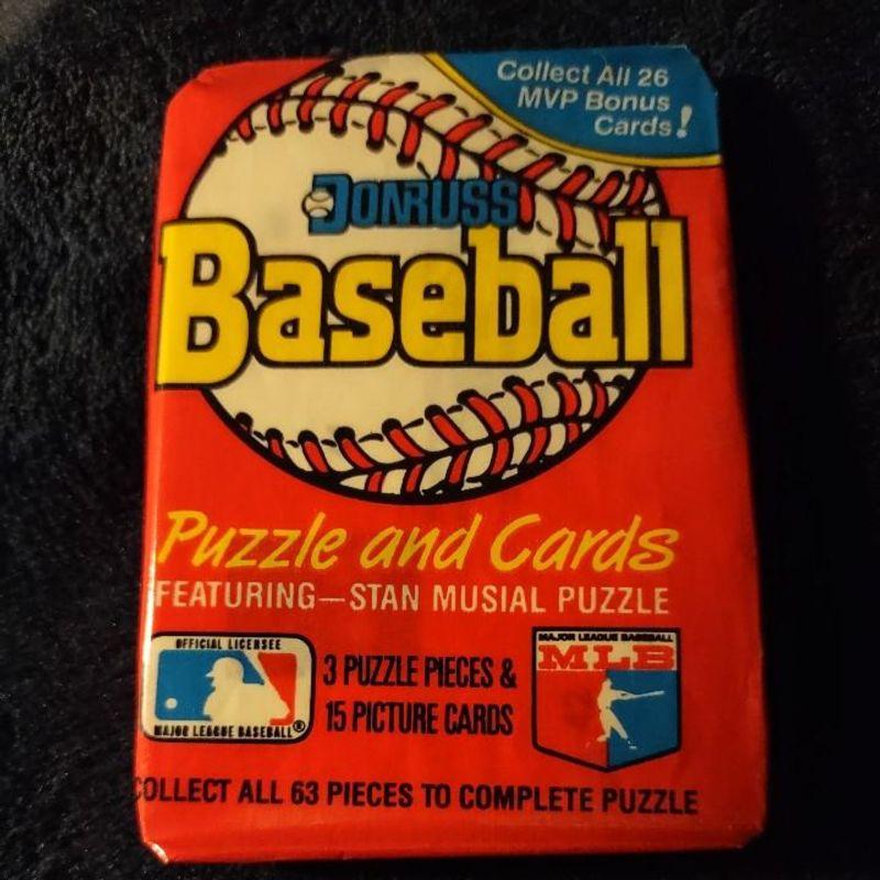 1988 Leaf Donruss Baseball Waxed Pack