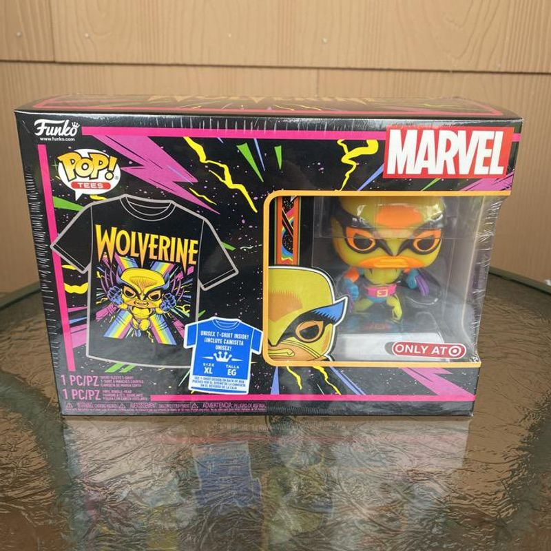 Wolverine (Black Light) and Tee Collectors Box