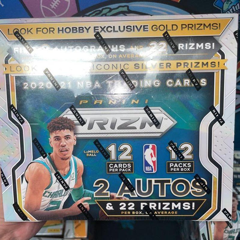 2020-21 Panini Prizm Basketball Hobby Box