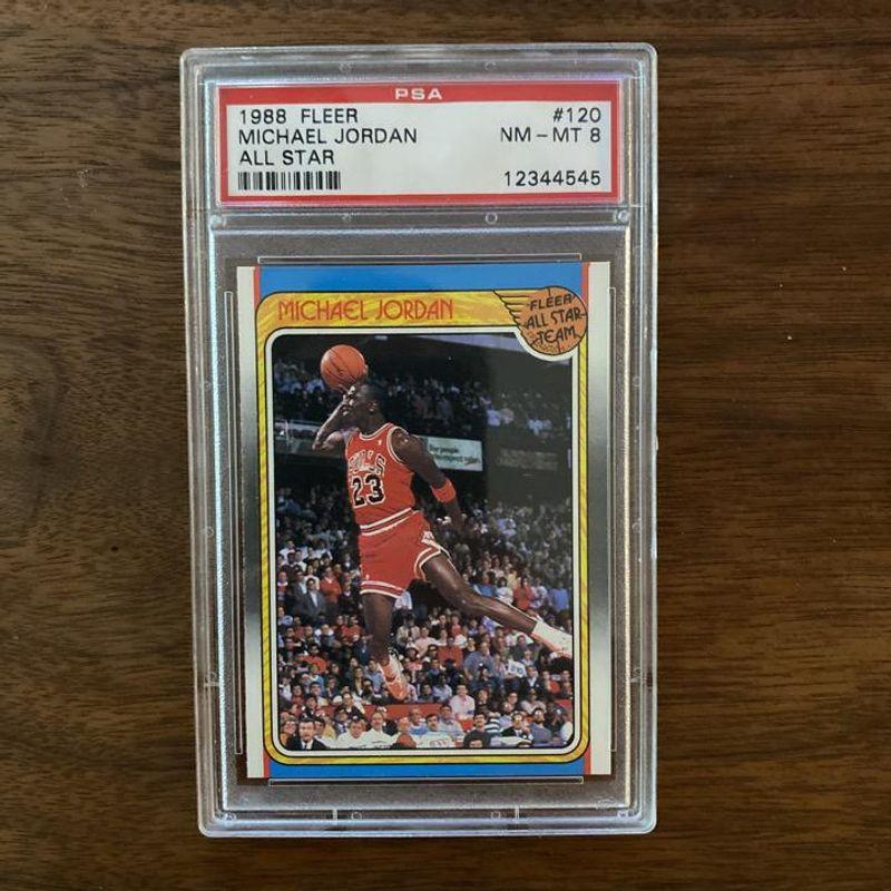 Michael Jordan - 1988 Fleer All Star