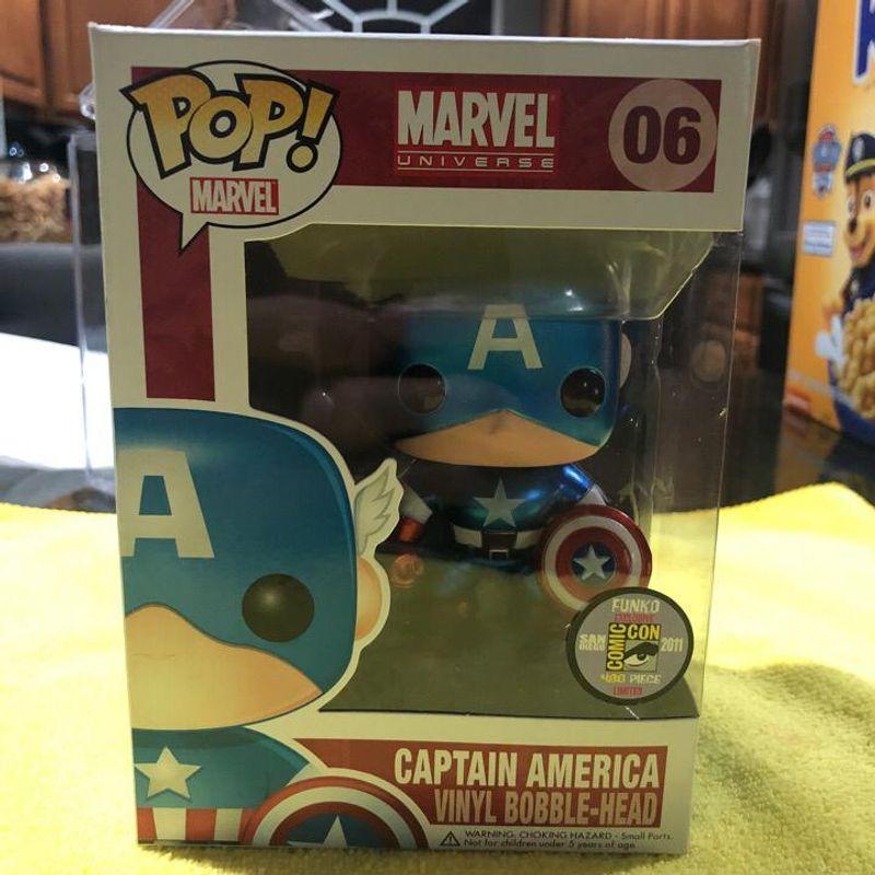 Captain America (Metallic)