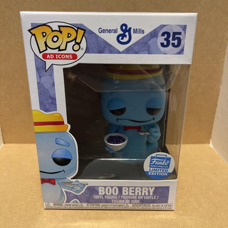 Boo Berry (Cereal Bowl)