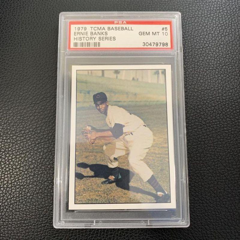 Ernie Banks - 1979 TCMA Baseball History Series