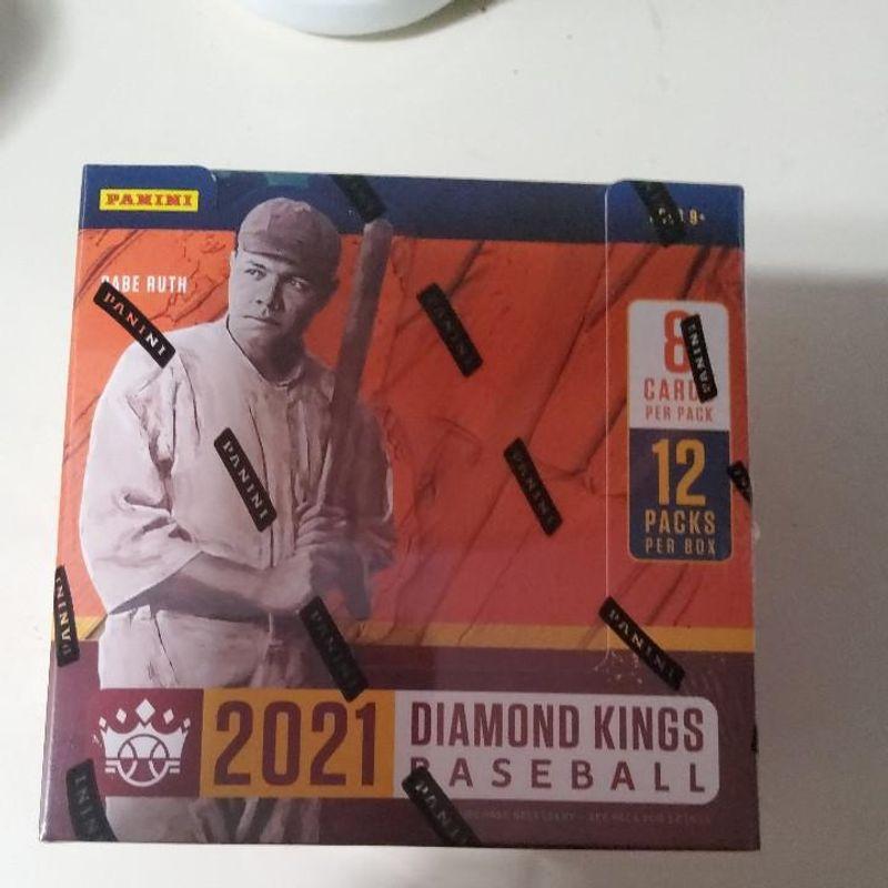 2021 Panini Diamond King Hobby Box