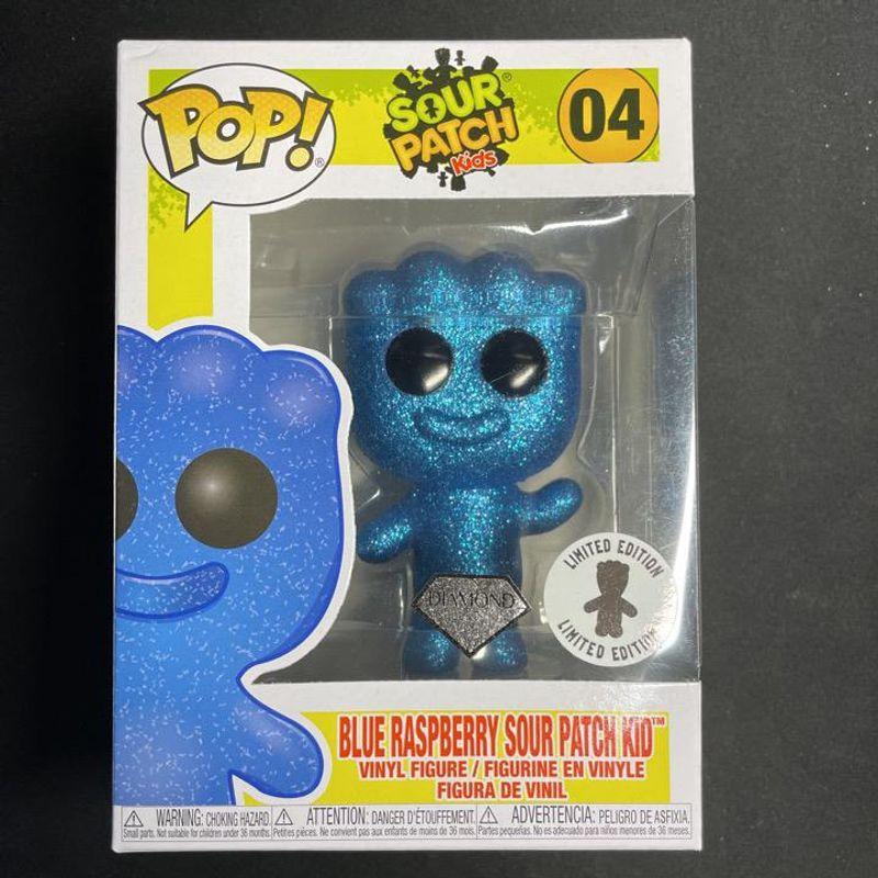 Blue Raspberry Sour Patch Kid (Diamond Glitter)