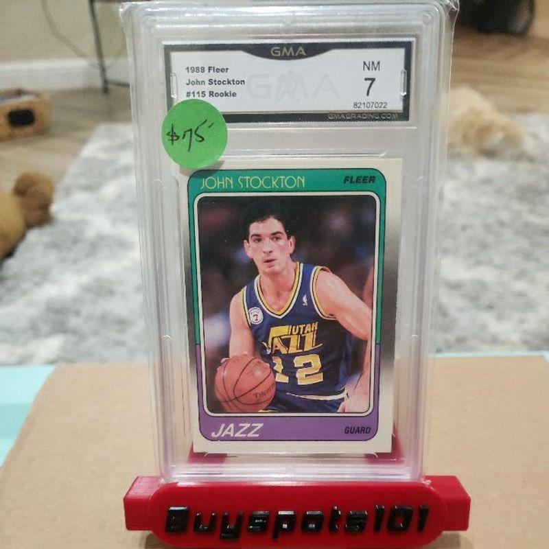 John Stockton (Rookie) - 1988 Fleer
