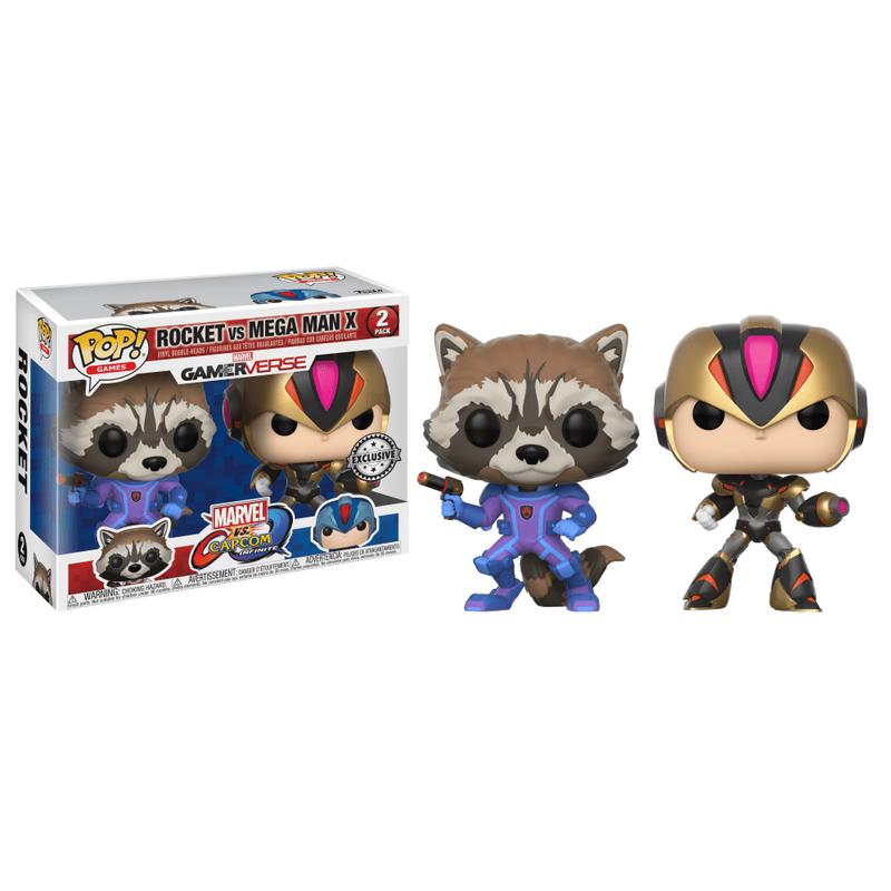 Rocket Raccoon vs Mega Man X (Player 2) (2-Pack)
