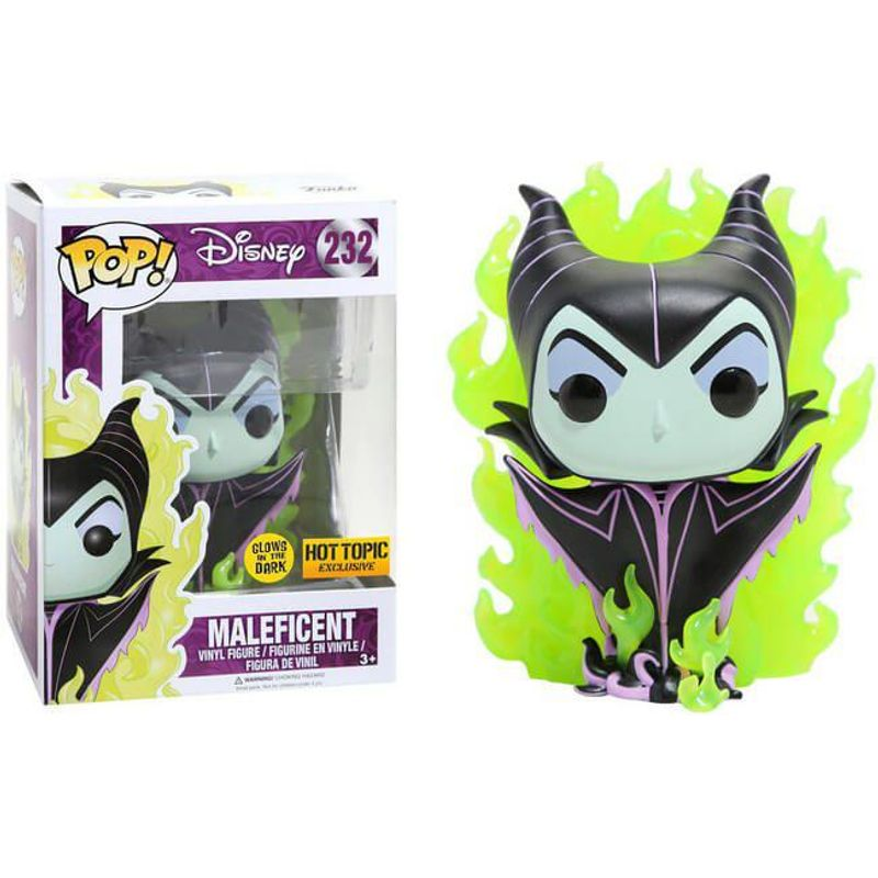 Maleficent (Flames) (Glow in the Dark)