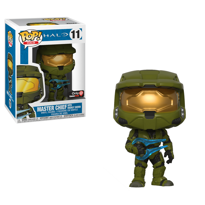Master Chief With Energy Sword