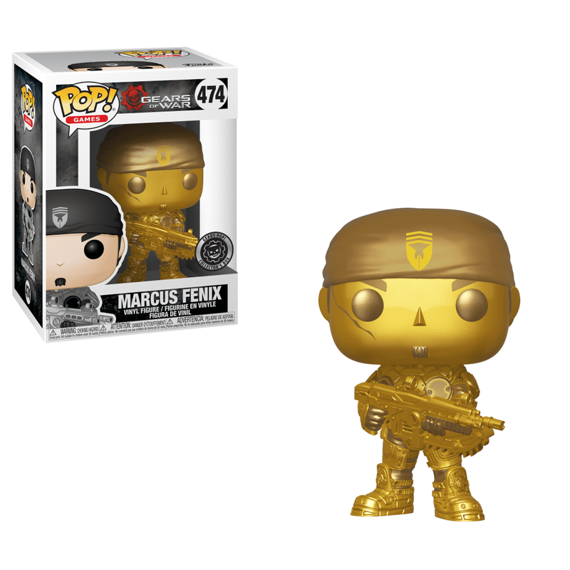 Marcus Fenix (Gears Pop!) (Gold)