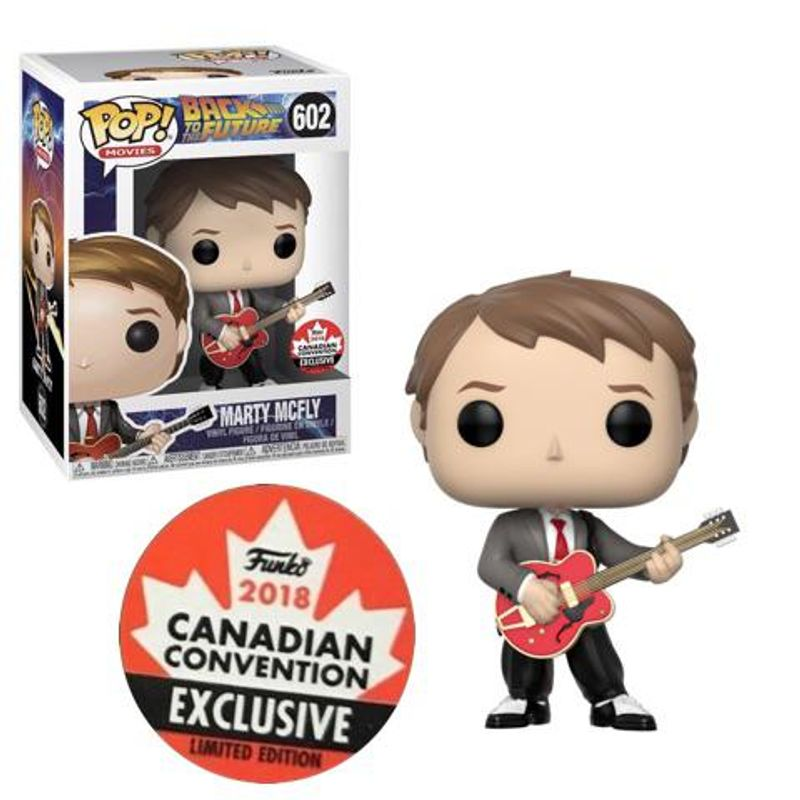 Marty McFly (w/ Guitar) [Canadian Convention]