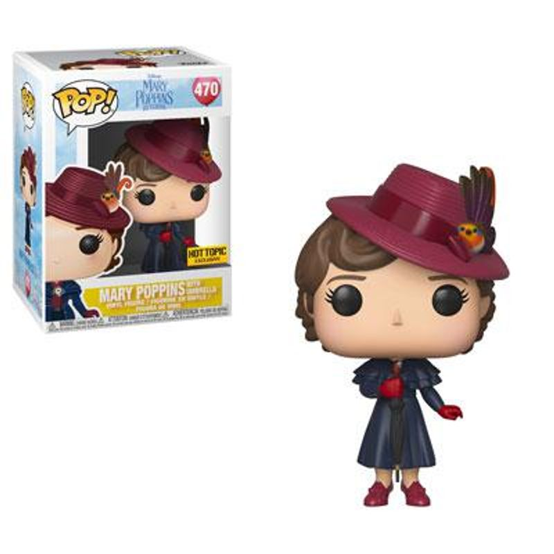 Mary Poppins With Umbrella