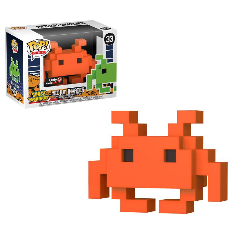 Medium Invader (Orange)