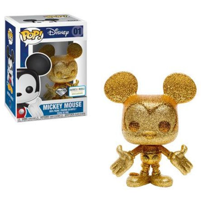 Mickey Mouse (Diamond Collection) (Gold)