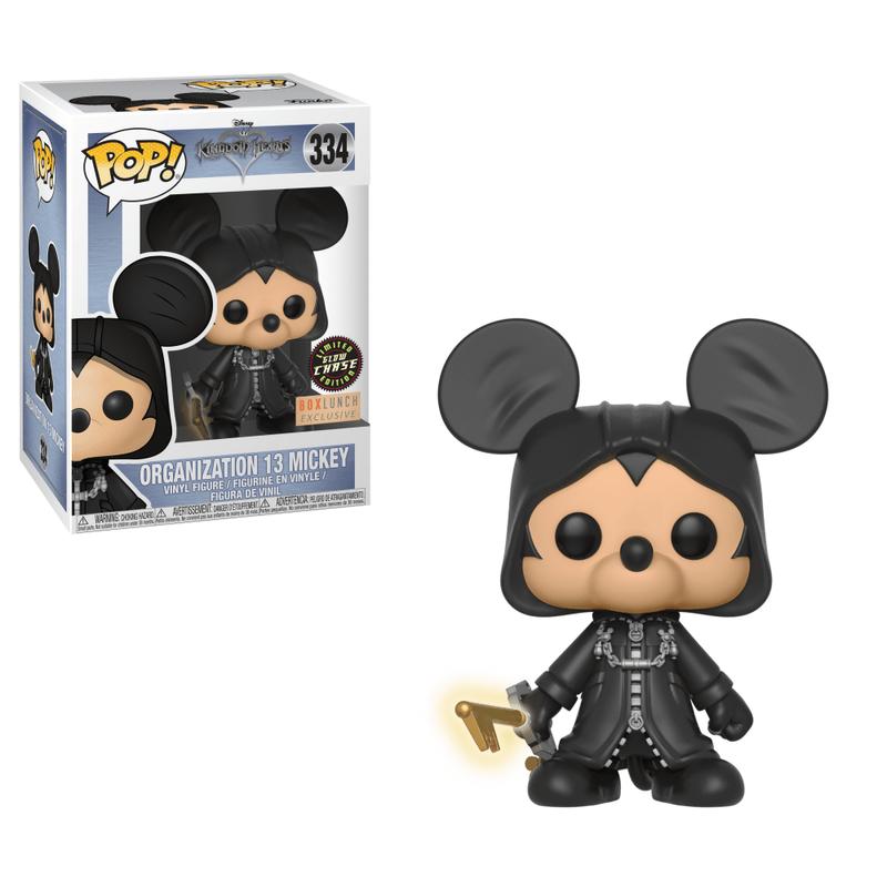 Mickey (Organization 13) (Glow in The Dark)