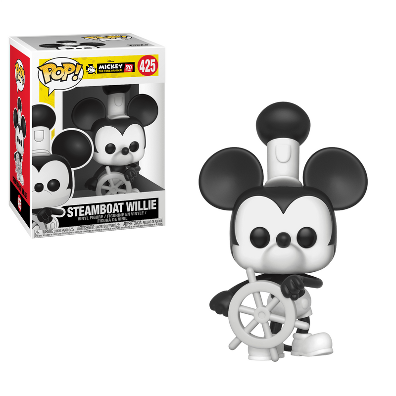Steamboat Willie (With Boat Wheel)