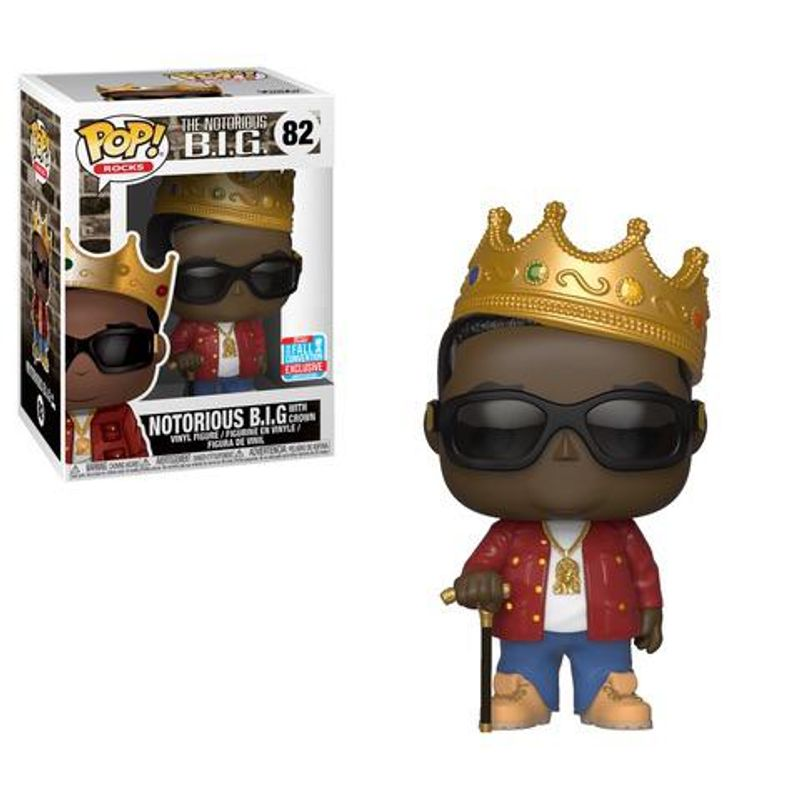 Notorious B.I.G. with Crown (Red Jacket) [Fall Convention]