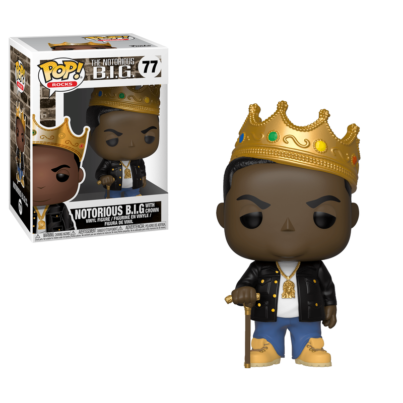 Notorious B.I.G. with Crown