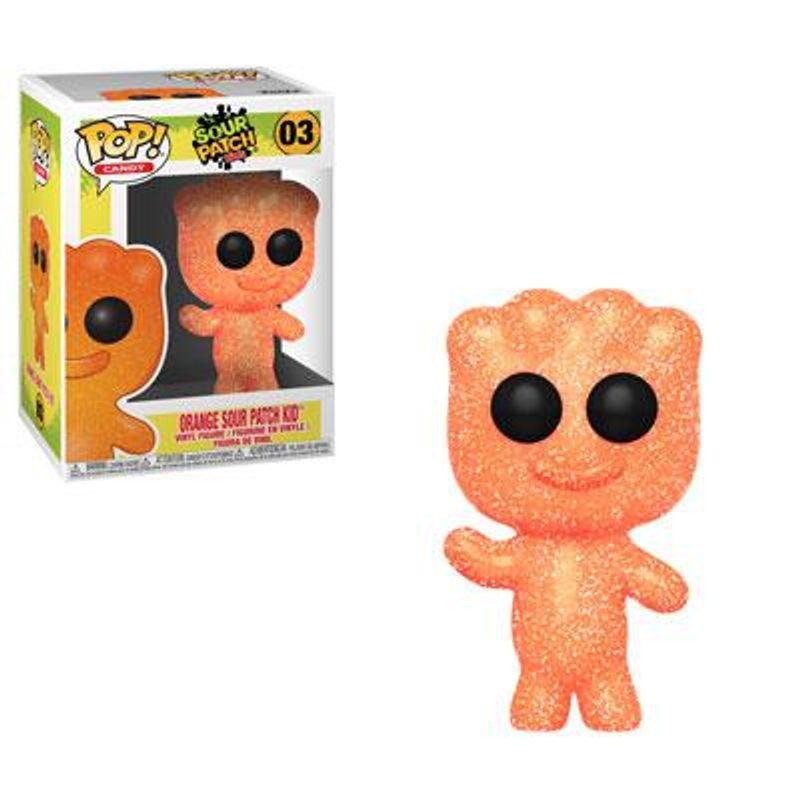Orange Sour Patch Kid