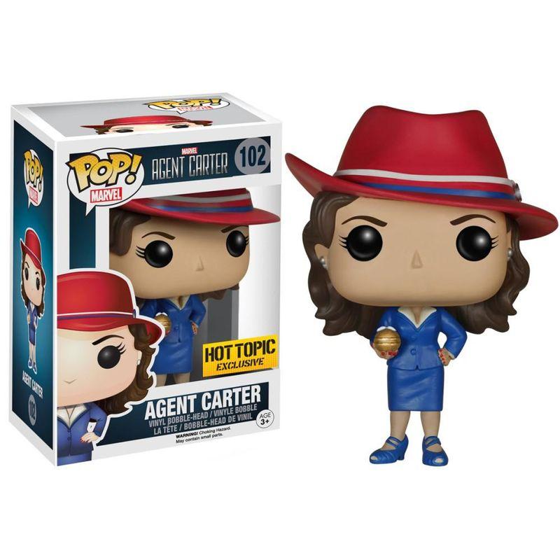 Agent Carter (w/ Nitramene Bomb)