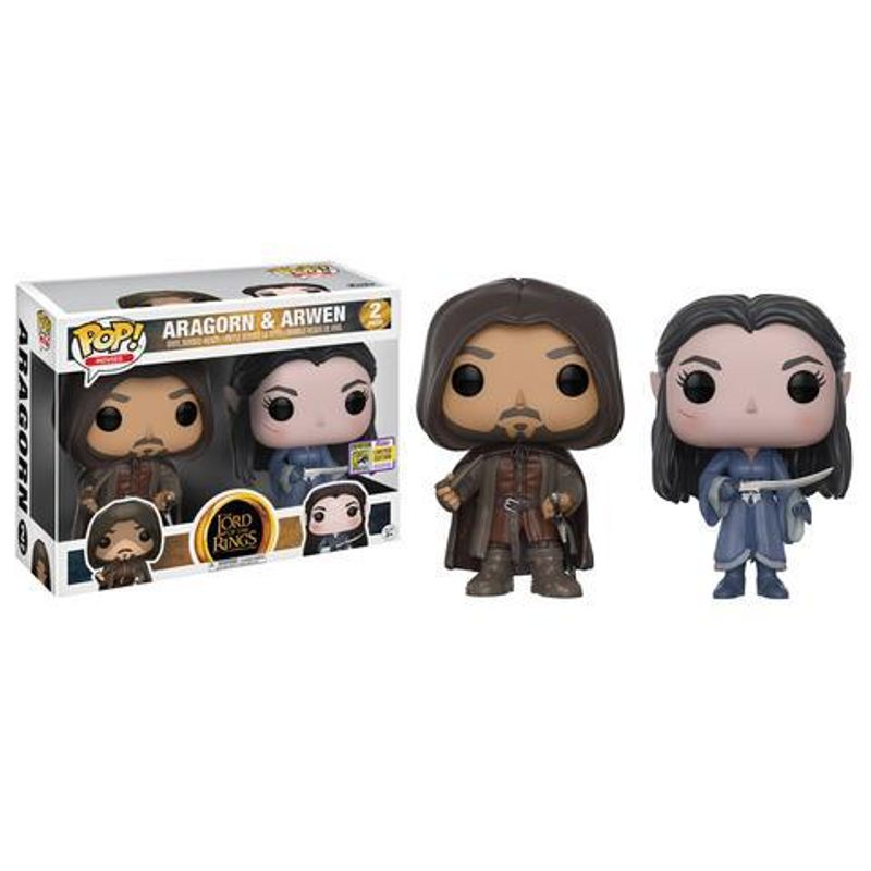 Aragorn & Arwen (2-Pack) [SDCC]