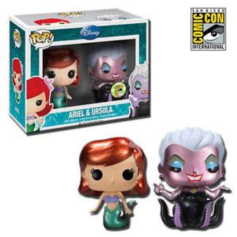 Ariel And Ursula (Metallic)