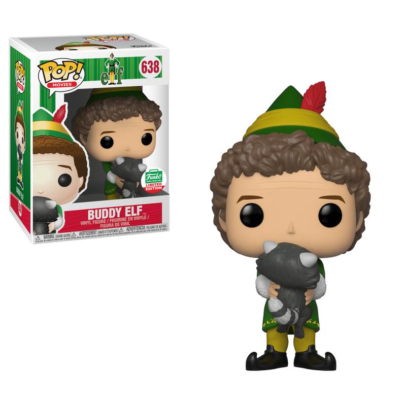 Buddy the Elf (Raccoon)