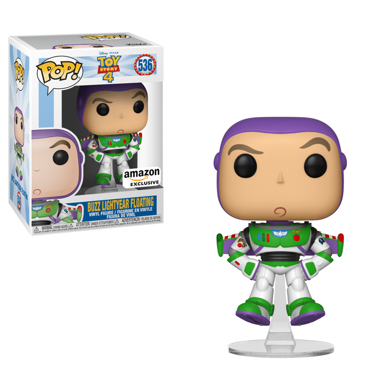 Buzz Lightyear Floating