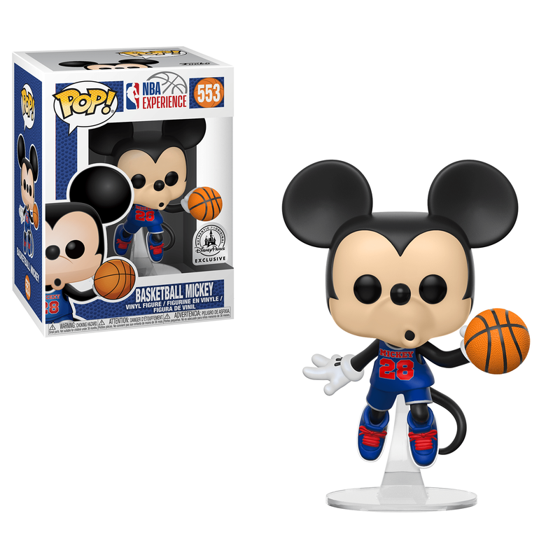 Basketball Mickey
