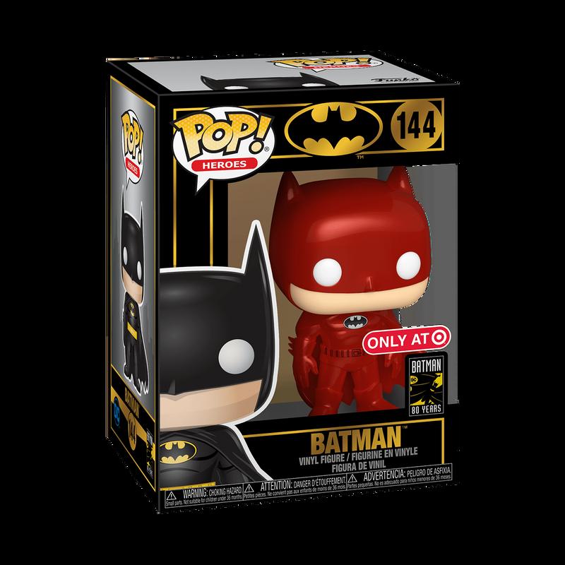 Batman (Red Metallic)