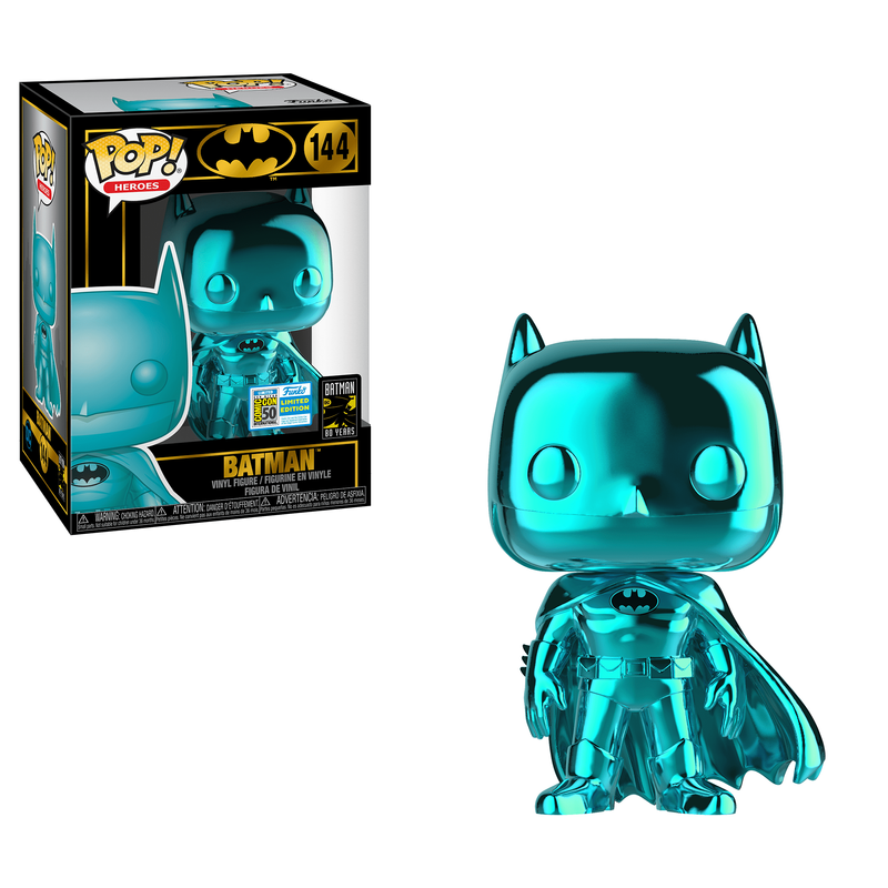 Batman (Teal Chrome) [SDCC]