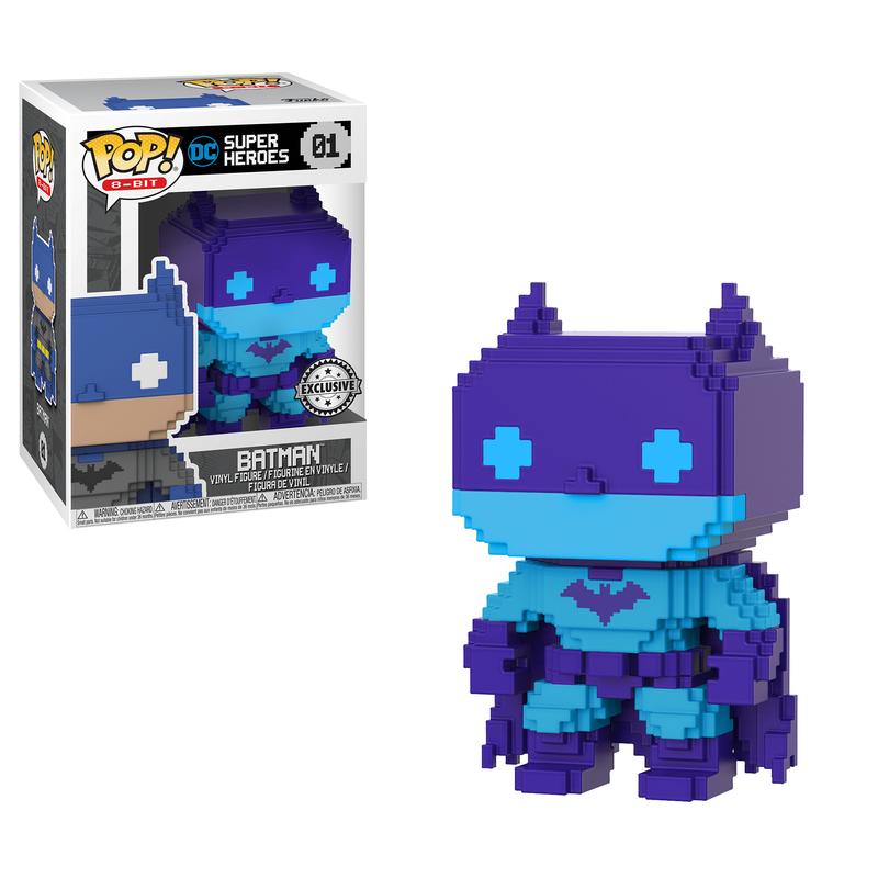 Batman (Purple & Blue)