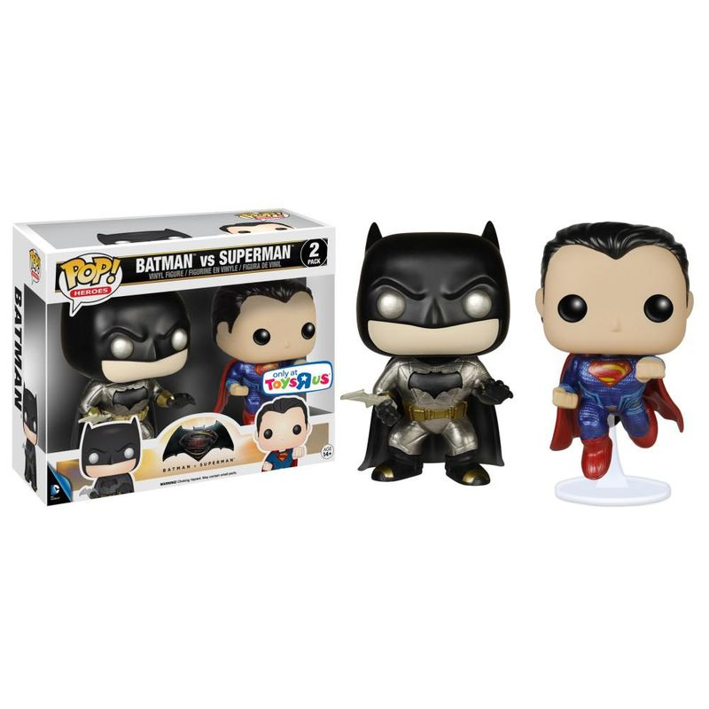 Batman VS Superman (Dawn of Justice) (Metallic) (2-Pack)
