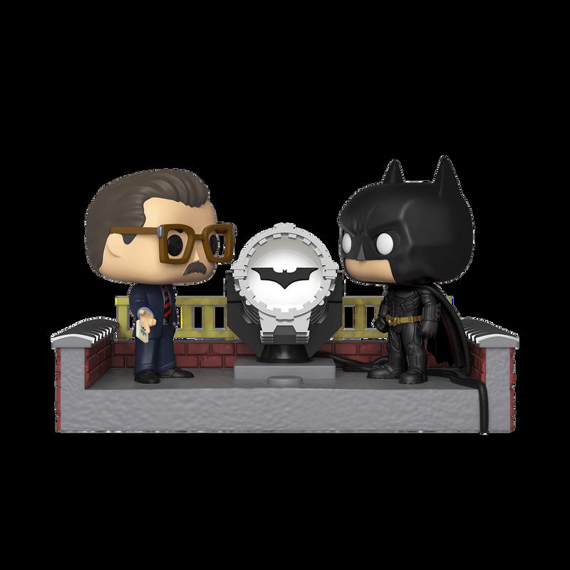Batman with Light-Up Bat-Signal