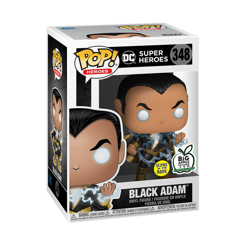 Black Adam (Glows in the Dark)