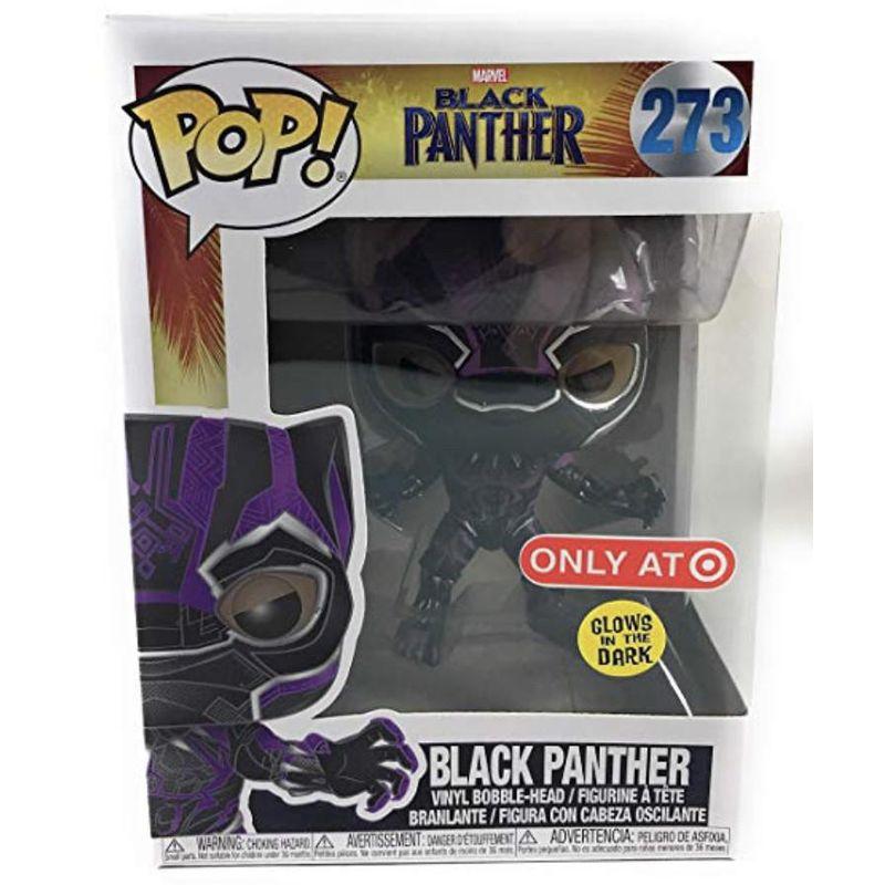 Black Panther (Black Panther Movie) (Purple Glow)