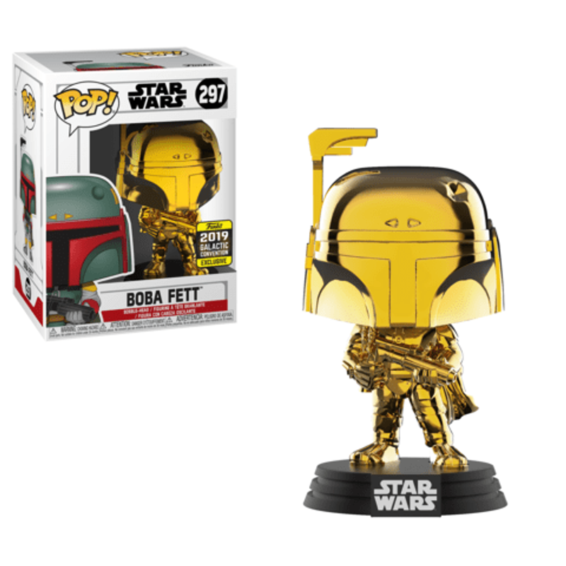 Boba Fett (Gold Chrome) [Galactic Convention]
