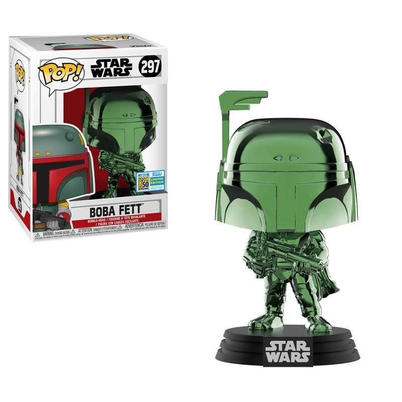 Boba Fett (Green Chrome) [SDCC]